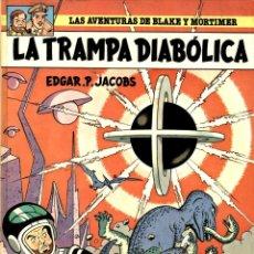 Cómics: LA TRAMPA DIABÓLICA (JUNIOR, 1985) DE EDGAR P. JACOBS. BLAKE Y MORTIMER-6. PRIMERA EDICIÓN EN ESPAÑA. Lote 139802346