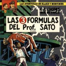 Cómics: LAS 3 FORMULAS DEL PROF. SATO-2 (JUNIOR, 1991) DE EDGAR P. JACOBS. BLAKE Y MORTIMER-12.. Lote 139805210