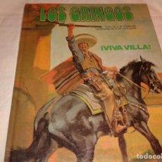 Cómics: LOS GRINGOS, VIVA VILLA 1981. Lote 139904354
