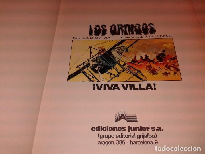 Cómics: LOS GRINGOS, VIVA VILLA 1981 - Foto 2 - 139904354
