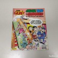 Cómics: 1118- TEBEO CHICHA TATO Y CLODOVEO DE PROFESION SIN EMPLEO GRAN HOTEL AÑO 1987 . Lote 140005174