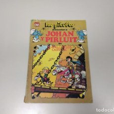 Cómics: 1118- LOS PITUFOS PRESENTAN A JOHAN Y PIRLUIT EN EL ANILLO DE LOS CASTELLAC 1983 OLE COLECCION . Lote 140006438
