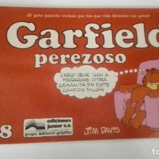 Cómics: GARFIELD PEREZOSO 8 EDICIONES JUNIOR EDITORIAL GRIJALBO. Lote 140025642