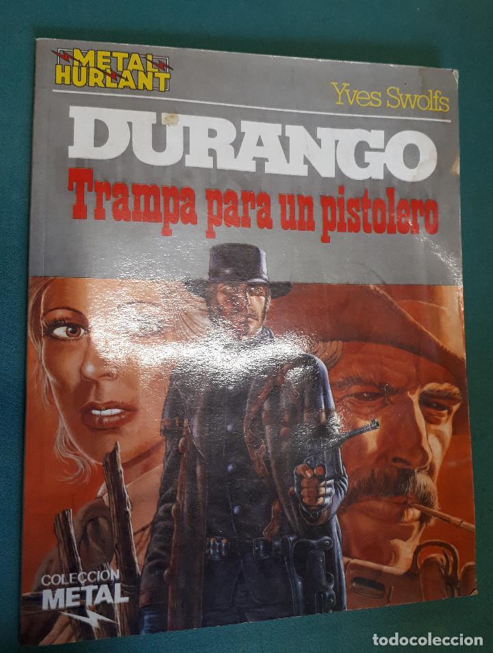 DURANGO, TRAMPA PARA UN PISTOLERO, COLECCION METAL (Tebeos y Comics - Grijalbo - Durango)