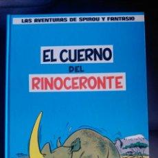 Cómics: LAS AVENTURAS DE SPIROU Y FANTASIO Nº 4. EL CUERNO DEL RINOCERONTE. EDITORIAL GRIJALBO. Lote 140185010