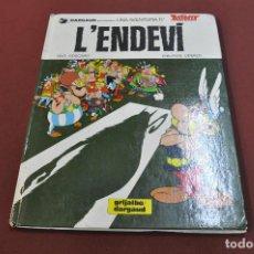 Cómics: UNA AVENTURA D'ASTERIX , L'ENDEVÍ - 1ª EDICIÓ 1982 - CATALÀ - COB. Lote 140301898