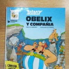 Cómics: ASTERIX #23 OBELIX Y COMPAÑIA RUSTICA. Lote 140396161