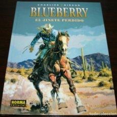Cómics: EL JINETE PERDIDO - BLUEBERRY - CHARLIER/GIRAUD - NORMA - 2005. Lote 140453126