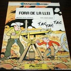 Cómics: FORA DE LA LLEI - CASAQUES BLAVES - SALVERIUS/CAUVIN - GRIJALBO - 1985 - EN CATALÁN. Lote 140453134