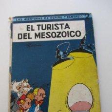 Cómics: FRANQUIN - LAS AVENTURAS DE ESPIRU Nº 2 - EL TURISTA DEL MESOZOICO - SPIROU JAIMES 1965. Lote 140536410