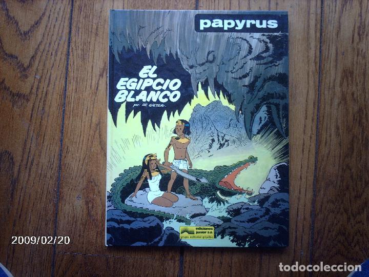EL EGIPCIO BLANCO - PAPYRUS - 3 - (Tebeos y Comics - Grijalbo - Papyrus)
