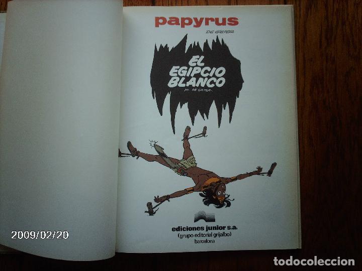 Cómics: El egipcio blanco - papyrus - 3 - - Foto 2 - 140654422