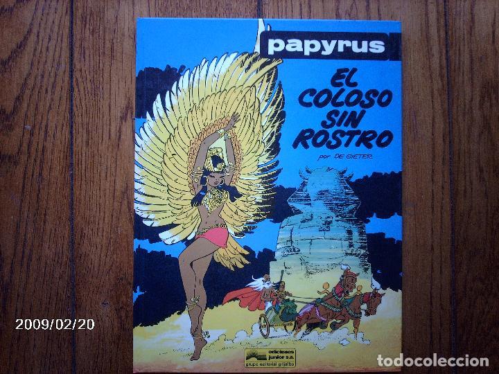EL COLOSO SIN ROSTRO - PAPYRUS - 5 - (Tebeos y Comics - Grijalbo - Papyrus)