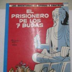 Cómics: SPIROU Y FANTASIO - EL PRISIONEROS DE LOS 7 BUDAS - Nº 12 - EDICIONES JUNIOR. Lote 140687418