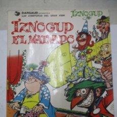 Cómics: LAS AVENTURAS DEL GRAN VISIR - IZNOGOUD - NUMERO 5- - IZNOGOUD EL MALVADO - EDICIONES JUNIOR. Lote 140688358