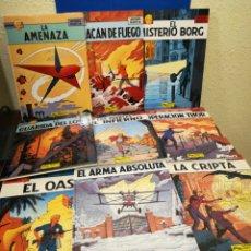 Fumetti: (RESERVADO) LOTE LEFRANC GRIJALBO NÚMEROS 1 A 9 - 1986-1988 - ESTUPENDO ESTADO. Lote 140937992
