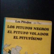 Cómics: LOS PITUFOS NEGROS, EL PITUFO VOLADOR, EL PITUFISIMO, TAPA DURA 1983. Lote 140965678