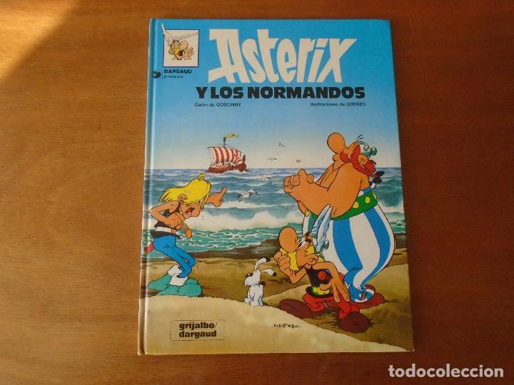 ASTERIX Y LOS NORMANDOS. GRIJALBO TAPA DURA 1990 (Tebeos y Comics - Grijalbo - Asterix)