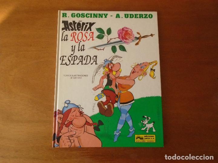 ASTERIX, LA ROSA Y LA ESPADA. GRIJALBO TAPA DURA 1991 (Tebeos y Comics - Grijalbo - Asterix)
