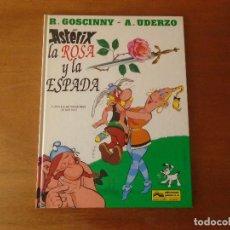 Cómics: ASTERIX, LA ROSA Y LA ESPADA. GRIJALBO TAPA DURA 1991. Lote 164324322