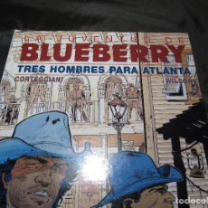 Cómics: LA JUVENTUD DE BLUEBERRY, TRES HOMBRES PARA ATLANTA 1994 GRIJALBO 48 PÁGINAS VER FOTOS. Lote 141292130