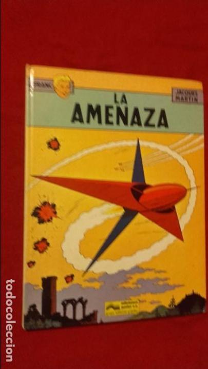 LEFRANC 1 - LA AMENAZA - J. MARTIN - CARTONE (Tebeos y Comics - Grijalbo - Lefranc)