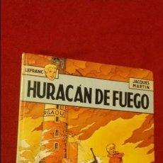 Cómics: LEFRANC 2 - HURACAN DE FUEGO - J. MARTIN - CARTONE. Lote 141614082