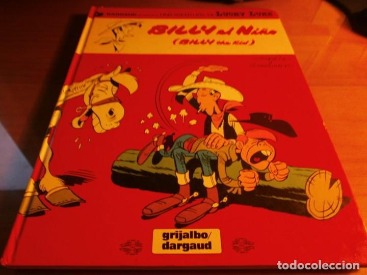 BILLY EL NIÑO - LUCKY LUKE - MORRIS Y GOSCINNY - Nº 14 - GRIJALBO / DARGAUD - 1980. (Tebeos y Comics - Grijalbo - Lucky Luke)