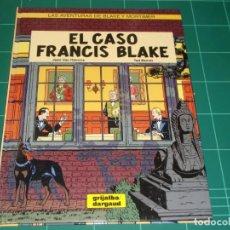 Cómics: EL CASO DE FRANCIS BLAKE GRIJALBO. Lote 141639042