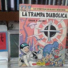 Cómics: LA TRAMPA DIABÓLICA (JUNIOR, 1985) DE EDGAR P. JACOBS. BLAKE Y MORTIMER-6. PRIMERA EDICIÓN . Lote 141895730