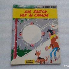 Fumetti: LUCKY LUKE - LOS DALTON VAN AL CANADA TAPA BLANDA 1985. Lote 142063614