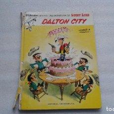 Cómics: LUCKY LUKE - DALTON CITY PILOTE 1º EDICION 1972. Lote 142064130