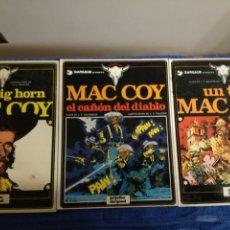 Cómics: LOTE DE 3 COMICS DE MAC COY QUE CONTIENE LOS NUMEROS 2-8-9. Lote 142208085