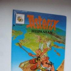 Cómics: ASTERIX HISPANIAN. ASTÉRIX EN HISPANIA. UDERZO/GOSCINNY. EN EUSKERA. TAPAS DURAS.. Lote 142420442