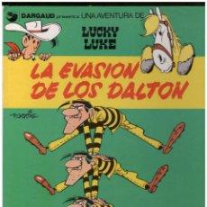 Cómics: LUCKY LUKE 16 LA EVASION DE LOS DALTON. GRIJALBO. TAPA DURA. Lote 142445154