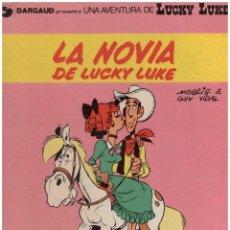 Cómics: LUCKY LUKE 32 LA NOVIA DE LUCKY LUKE. GRIJALBO. TAPA DURA. Lote 142446362