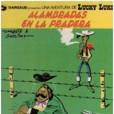 Cómics: LUCKY LUKE 31 ALAMBRADAS EN LA PRADERA. GRIJALBO. TAPA DURA. Lote 142446550