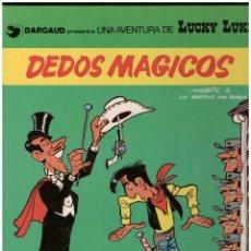 Cómics: LUCKY LUKE 26 DEDOS MAGICOS. GRIJALBO. TAPA DURA. Lote 142446834