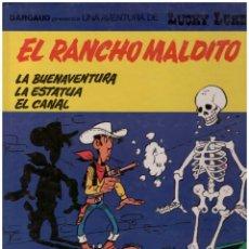 Cómics: LUCKY LUKE 47 EL RANCHO MALDITO . GRIJALBO. TAPA DURA. Lote 142453358