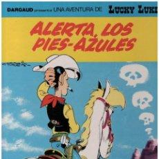 Cómics: LUCKY LUKE 45. ALERTA LOS PIES-AZULES. GRIJALBO. TAPA DURA. Lote 142453706