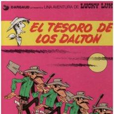 Cómics: LUCKY LUKE 19. EL TESORO DE LOS DALTON GRIJALBO. TAPA DURA. Lote 142453954