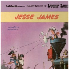 Cómics: LUCKY LUKE 41 JESSE JAMES GRIJALBO. TAPA DURA. Lote 142454134