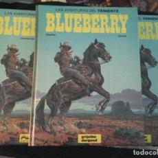 Cómics: LAS AVENTURAS DEL TENIENTE BLUEBERRY , 7 TOMOS. Lote 142643270