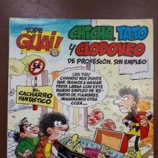 Cómics: TOPE GUAI Nº7 - CHICHA, TATO Y CLODOVEO - 1987. Lote 142950674