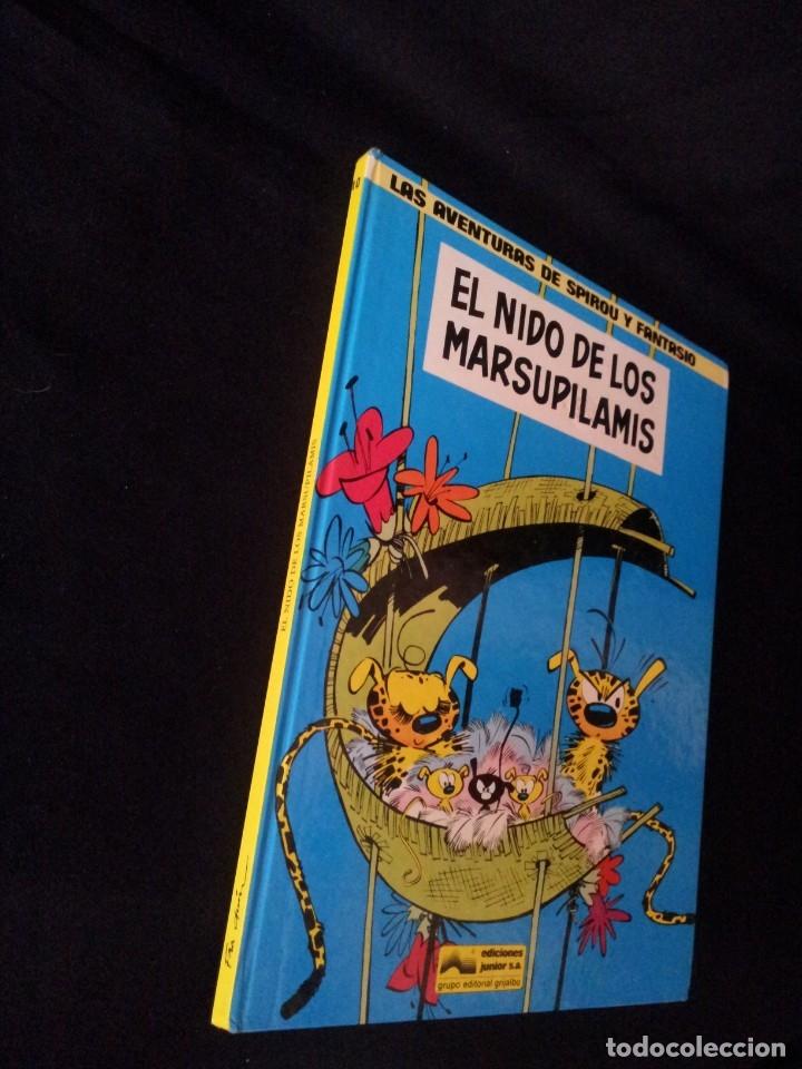 Cómics: LAS AVENTURAS DE SPIROU Y FANTASIO Nº10 - EL NIDO DE LOS MARSUPILAMIS - EDIC. JUNIOR,GRIJALBO 1982 - Foto 4 - 116051987