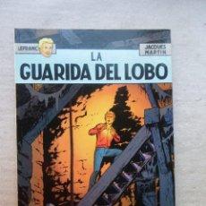 Cómics: LEFRANC Nº 4 LA GUARIDA DEL LOBO / GRIJALBO 1986. Lote 142976982