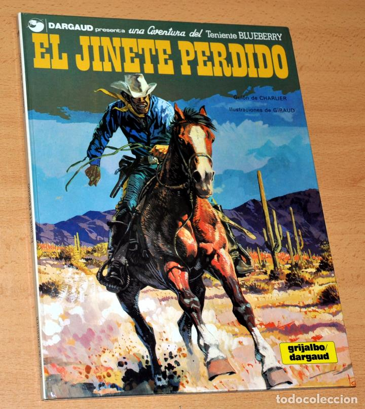 TENIENTE BLUEBERRY - Nº 19: EL JINETE PÁLIDO - CHARLIER / GIRAUD - EDITORIAL GRIJALBO / DARGAUD 1982 (Tebeos y Comics - Grijalbo - Blueberry)