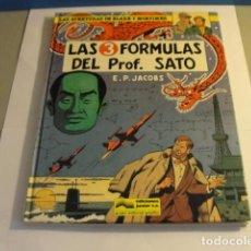 Cómics: LOTE COMIC LAS TRES FORMULAS PROFESOR SATO Nº8 P.JACOBS ED JUNIOR 1986...SALIDA 1 EURO. Lote 143142554