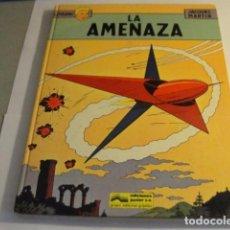 Cómics: LOTE COMIC LA AMENAZA LEFRANC Nº1 JACQUES MARTIN ED JUNIOR 1986...SALIDA 1 EURO. Lote 143142902