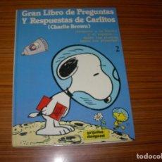 Cómics: GRAN LIBRO DE PREGUNTAS Y RESPUESTAS DE CARLITOS Nº 2 EDITA GRIJALBO . Lote 143389202